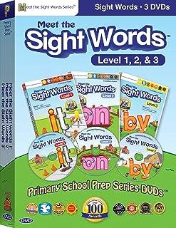 Preschool Prep Series: Sight Words Pack (Meet the Sight Words 1-3) [DVD] [Import]