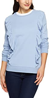 Jag Women Sophie Ruffle LS Sweat