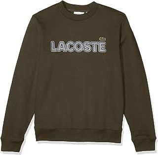 Mens Long Sleeve Brushed Fleece Tattersall Sweatshirt