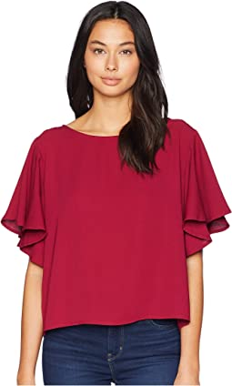 828d8ba50301 Jack by bb dakota ann crinkle rayon cold shoulder top