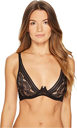 Versace Triangle Lace Greek Bra