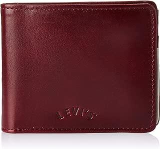 Levi's Dull Red Men's Wallet (Arch Logo Bifold)