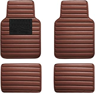 Amazon Com Brown Universal Fit Floor Mats Automotive