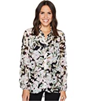 Ellen Tracy - Shirred Yoke Shirt