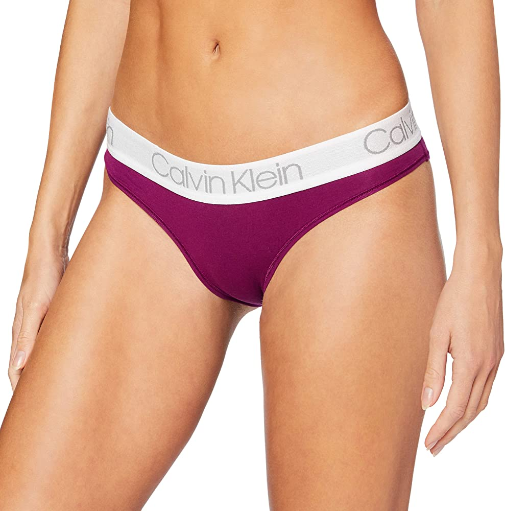 Calvin klein, slip bikini per donna,in cotone 000QD3752E