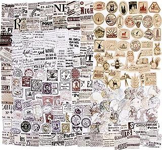 273PCS Autocollants Scrapbooking Stickers Gommettes Etiquettes Adhésif Style Vintage DIY Album Photo 6 Boîtes pour Journal...