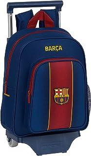 Mochila Safta Infantil de F.C. Barcelona 1ª Equipación 20/21 con Carro Safta 705, 270x100x330mm