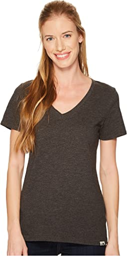 The North Face - Short Sleeve Sand Scape V-Neck Tee