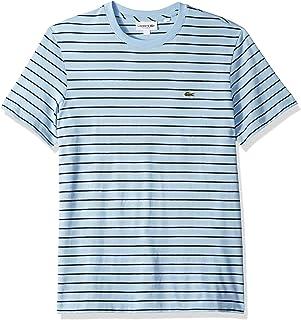 Lacoste Men's S/S Jersey Striped Necktape