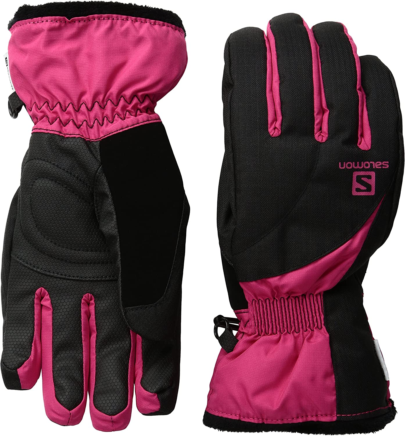 Salomon Women's Force Dry Gloves, Quick Drying with Adjustable Cuff