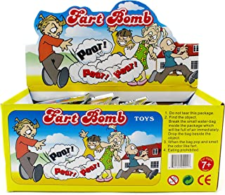 72 Pack Individual Fart Bomb Bags Prank Joke Stinky Smelly Novelty