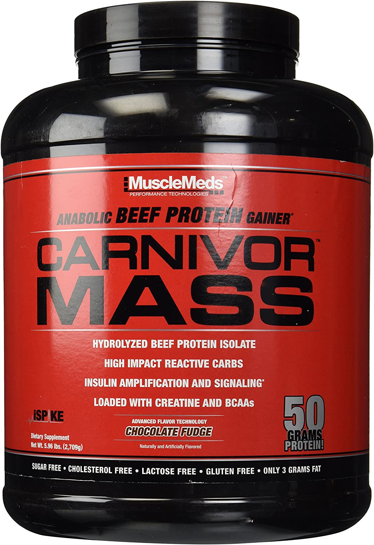 Boston Store Mall Muscle Meds Carnivor Mass Chocolate - lbs Fudge 5.99