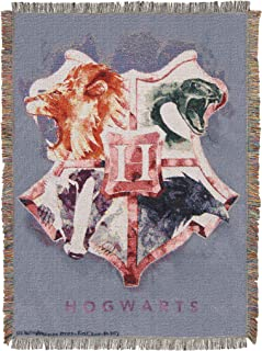 Harry Potter Houses Together Throw Blanket, 48
