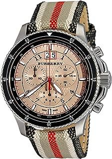 Endurance Mens Fabric Chronograph Watch BU7600