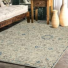 "Rugsville Cherish Floral Ivory Persian Carpet 5'3"" x 7'1"""