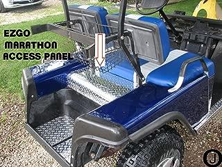 Ezgo Marathon Golf Cart Diamond Plate Access Panel Cover