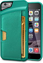 Smartish iPhone 6/6s Wallet Case - Wallet Slayer Vol. 2 [Slim Protective] Credit Card Holder for Apple iPhone 6s/6 (Silk) - Pacific Green