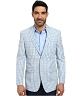 U.S. POLO ASSN. - Bold Plaid Two-Button Blazer