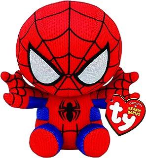 Ty Spiderman Plush, Red/blue, Regular For Boys