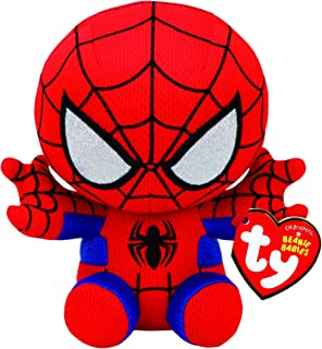 Ty Spiderman Plush, Red/blue, Regular