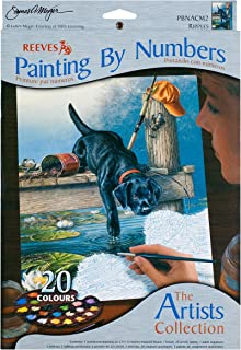 Winsor & Newton Reeves 9-Inch by 12-Inch Paint by Number Artist's Collection, Ripples