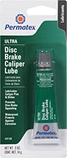 Permatex 85188-6PK Ultra Disc Brake Caliper Lube, 0.5 oz. (Pack of 6)