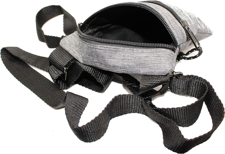 bolso para el cuello RabamtaGO Collection Bolso XL para hombre o mujer bolso de hombro bolso plano en el pecho impermeable