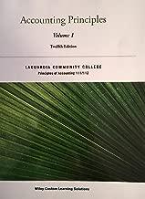 ACCOUNTING PRINCIPLES Volume 1 12th Edition Weygandt, Kimmel and Kieso (Custom for LaGuardia Community College)