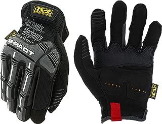 Mechanix Wear - M-Pact Open Cuff Work Gloves (Large, Black/Grey)