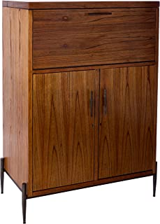 Howard Miller Wine Cabinet/Bar, Dark Caramel