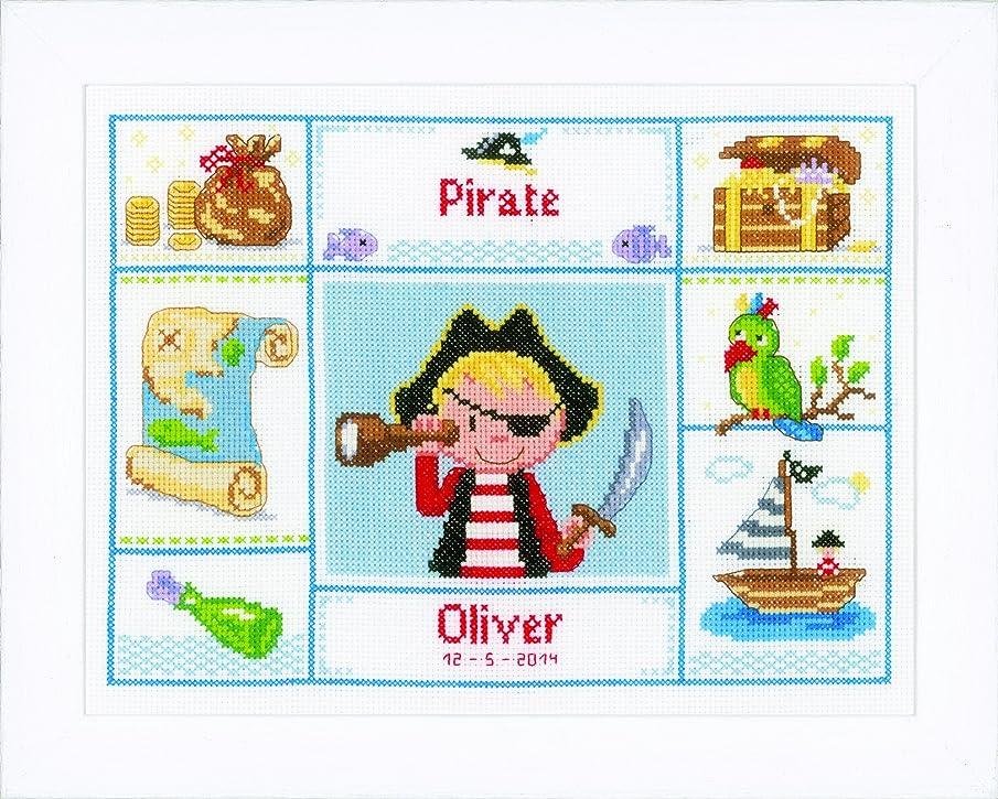 Vervaco One Eyed Pirate Cross Stitch Kit