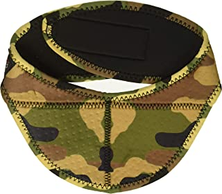 43d685bf77f ZANheadgear Unisex-Adult Airsoft Neck Protector (Woodland Camo) One Size  Fits Most Most