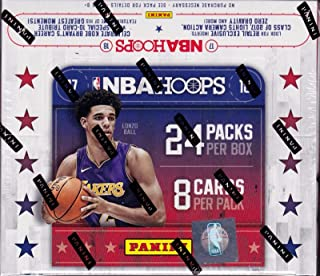 2017 2018 HOOPS NBA Basketball Retail Series HUGE Unopened Box of Packs Containing 192 cards including One Autographed Card and Retail EXCLUSIVE Inserts