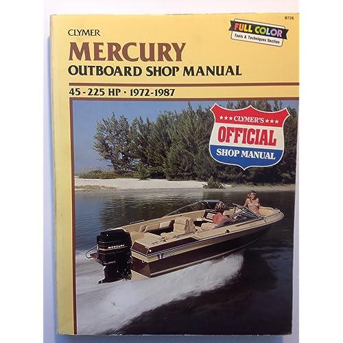 Mercury Outboard Manual: Amazon com