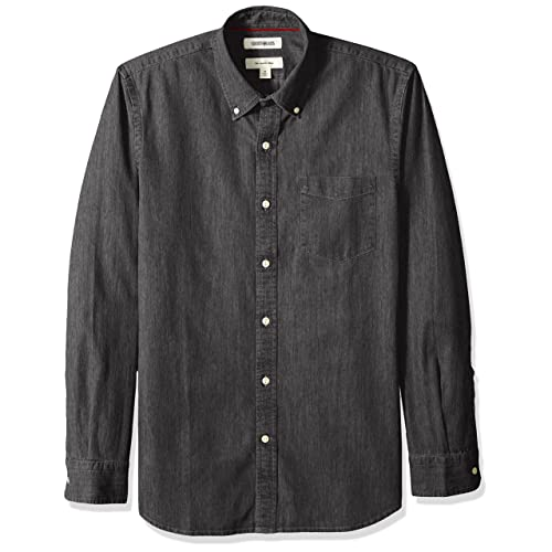 e05a2e0f9b Goodthreads Men s Slim-Fit Long-Sleeve Denim Shirt