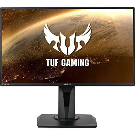 "ASUS TUF Gaming VG259QM 24.5"" Monitor, 1080P Full HD (1920 x 1080), Fast IPS, 280Hz, G-SYNC Compatible, Extreme Low Motion Blur Sync,1ms, DisplayHDR 400, Eye Care, DisplayPort HDMI BLACK"