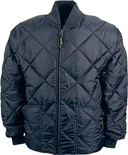 Men's Diamond Quilt Jacket Navy
