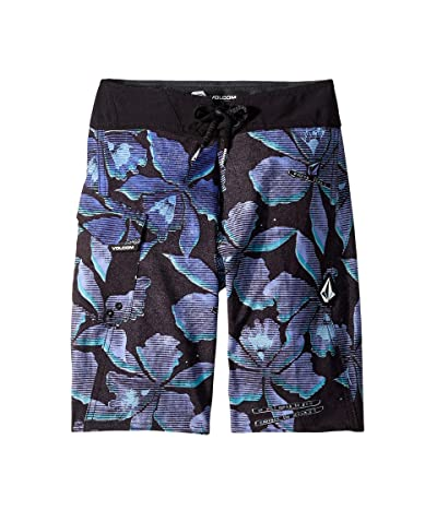 Volcom Kids Fauna Mod Boardshorts (Big Kids) (Light Purple) Boy