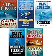 Dirk Pitt Adventure Series - Part 1 - Volumes 1-5: (The Mediterranean Caper, Iceberg, Raise the Titanic!, Vixen 03 & Night...