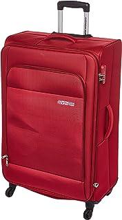 حقيبة سفر كبيرة ناعمة من American Tourister Oakland باللون الأحمر، 78 سم