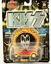 Hot Rockin KISS - 1999 - Racing Champions KISS Gene Simmons Hot Rod - Issue #11 - 1 of 25,000 - Psycho Circus - w/ Base & Collector Card - Rare - New - Limited Edition - Collectible