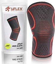 UFlex Athletics پشتیبانی از کمربندهای زانو برای اجرای، پیاده روی، ورزش - برس برای کاهش درد متحرک، آرتریت و بازیابی ضایعات - تک بسته بندی