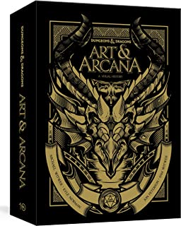Dungeons and Dragons Art and Arcana [Special Edition, Boxed Book & Ephemera Set]: A Visual History: Special Edition, Boxed...