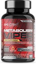 Metabolism Viper Fat Burner Supplement with Biotin which contributes to Normal macronutrient Metabolism 180 Capsules Estimated Price : £ 16,99