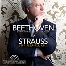 Symphony No. 3 Eroica/Strauss: Horn Concerto No. 1