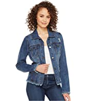 FDJ French Dressing Jeans - Frayed Denim Jacket