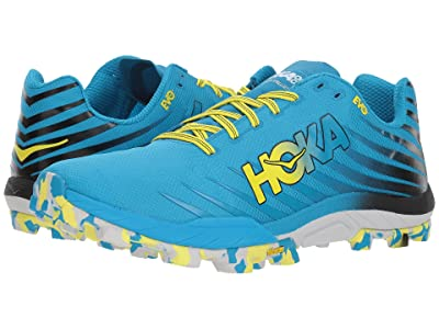 Hoka One One Evo Jawz (Cyan/Citrus) Men