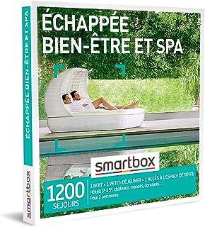 SMARTBOX - Coffret Cadeau Couple - Idée cadeau original : Séjour détente et relaxation en spa pour deux pour bien-être absolu