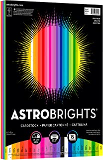 Astrobrights Colored Cardstock Paper, Spectrum