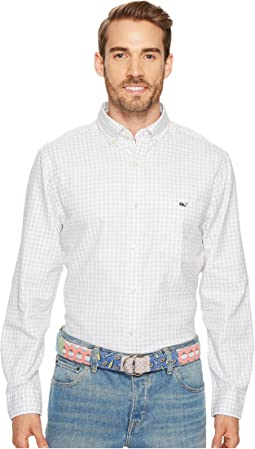 Vineyard Vines - Garden Quarter Gingham Tucker Shirt